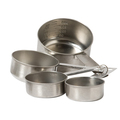 Measuring Cup Set - 4 Piece - Stainless Steel (Prev. 5573)