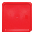 Square PE Lid - Red - Suits 5872 and 5873 (Prev. 5881)