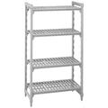 Polypropylene 4 Tier Shelf - 1220 x 455 x 1800mm (Prev. 2706)
