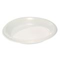 Round White Plastic Plate 230mm - 500 Per Carton (Prev. 2239)