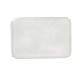 Lid to Suit Rectangular Containers 2205 and 2206 - 500 Per Box (Prev. 2207)