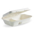 Clamshell 2 Compartment White 228 x 152 x 76mm - 250 Per Carton (Prev. 2469)