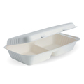 Clamshell 2 Compartment White 279 x 152 x 76mm - 100 Per Carton (Prev. 2470)