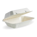 Clamshell 1 Compartment White 228 x 152 x 76mm - 250 Per Carton (Prev. 2367)