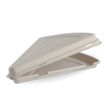 Clamshell Pizza Natural 280 x 163 x 40mm - 250 Per Carton (Prev. 2473)