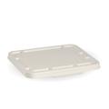 BioCane Takeaway Lid White 2 and 3 Compartment - 500 Per Carton (Prev. 2465)