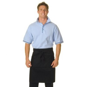 'DNC' Cotton Drill Half Apron - With Pocket