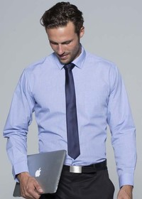 'AP Business' Mens Grange Long Sleeve Shirt