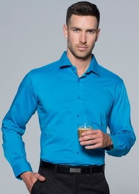 'AP Business' Mens Mosman Long Sleeve Shirt