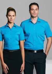 'AP Business' Mens Mosman Short Sleeve Shirt
