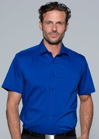'AP Business' Mens Springfield Short Sleeve Shirt