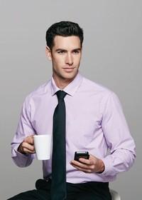 'AP Business' Mens Belair Long Sleeve Shirt