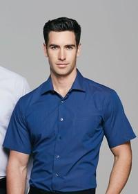 'AP Business' Mens Belair Short Sleeve Shirt