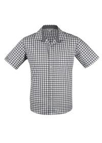 'AP Business' Mens Devonport Modern Check Short Sleeve Shirt