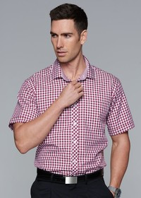 'AP Business' Mens Brighton Short Sleeve Shirt