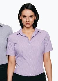 'AP Business' Ladies Toorak Short Sleeve Shirt