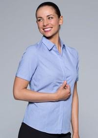 'AP Business' Ladies Grange Short Sleeve Shirt