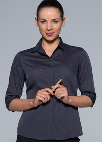 'AP Business' Ladies Grange ¾ Sleeve Shirt