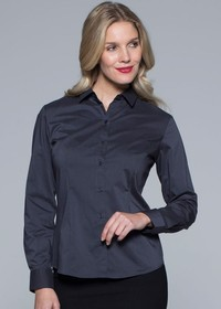 'AP Business' Ladies Mosman Long Sleeve Shirt