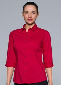 'AP Business' Ladies Mosman ¾ Sleeve Shirt