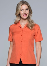 'AP Business' Ladies Springfield Short Sleeve Shirt