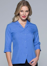 'AP Business' Ladies Springfield ¾ Sleeve Shirt