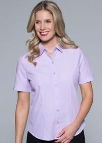 'AP Business' Ladies Belair Short Sleeve Shirt