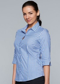 'AP Business' Ladies Brighton ¾ Sleeve Shirt
