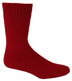 Bamboo Extra Thick Socks - Burnt Red