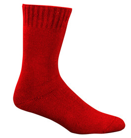 Bamboo Extra Thick Socks - Fire Red