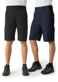 'Biz Collection' Mens Regular Flexi Bands Detroit Cargo Shorts