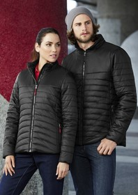 'Biz Collection'  Ladies Expedition Ultra-Light Hi Loft Quilted Jacket