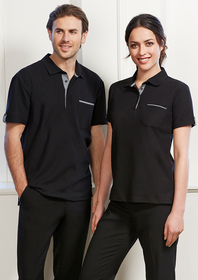 'Biz Collection' Mens Edge Polo