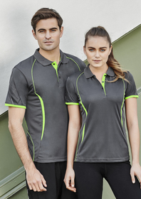 'Biz Collection' Ladies Razor Sports Polo