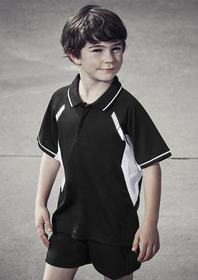 'Biz Collection' Kids Renegade Polo
