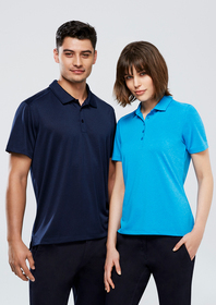 'Biz Collection' Mens Aero Polo