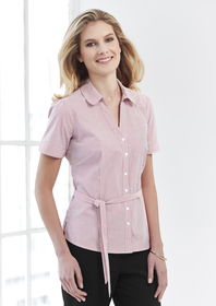 'Biz Corporate' Ladies Berlin Y-Line Shirt