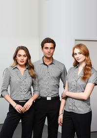 'Biz Collection' Ladies Edge Short Sleeve Shirt