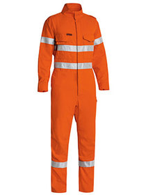 'Bisley Workwear' TenCate Tecasafe® Plus Taped HiVis FR Lightweight Engineered Coverall