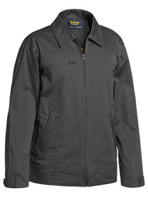 'Bisley Workwear' Cotton Drill Jacket with Liquid Repellent Finish
