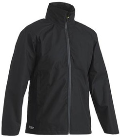 'Bisley' Lightweight Ripstop Rain Jacket with Hood (Waterproof)