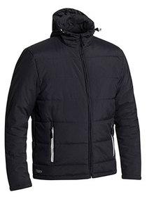 'Bisley Workwear'  Puffer Jacket with Adjustable Hood