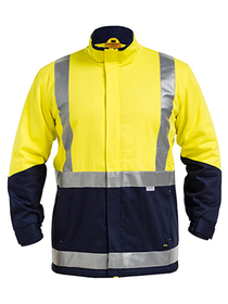 'Bisley Workwear' 3M Taped HiVis 3 in 1 Drill Jacket