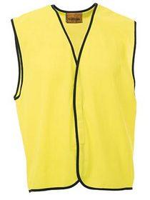 'Bisley Workwear' HiVis Lightweight Vest