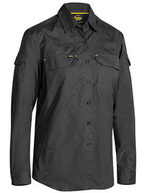 'Bisley Workwear' Ladies X Airflow Ripstop Long Sleeve Shirt