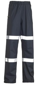 'Bisley Workwear'  Taped Stretch PU Rain Pant (Waterproof)