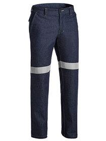 'Bisley Workwear' Flame Resistant 3M Taped Denim Jeans