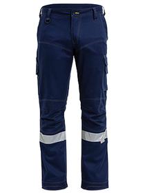 'Bisley Workwear' 3M Taped Ripstop Engineered Cargo Work Pant