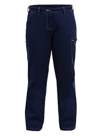'Bisley Workwear' Ladies Cool Vented Light Weight Cargo Pant