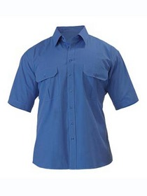 'Bisley Workwear' Short Sleeve Metro Shirt